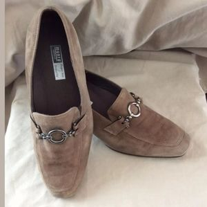 MUNRO AMERICAN SUEDE WOMEN'S SHOES BROWN